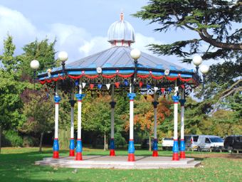 The Bandstand is Back image
