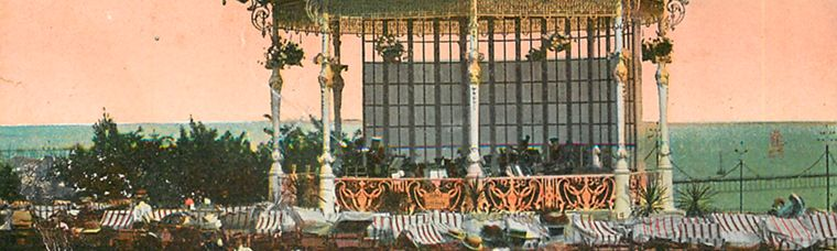 Southend Bandstand banner
