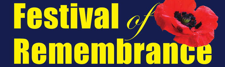Festival of Remembrance banner