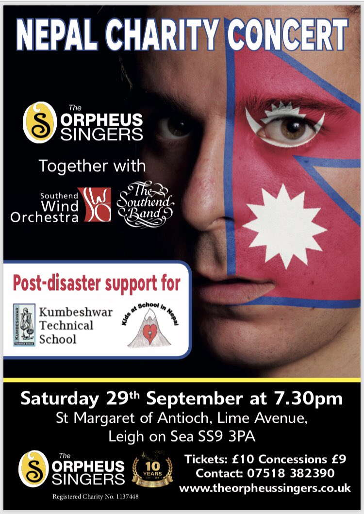 Concert for Nepal poster