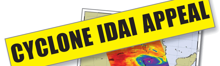 Cyclone Idai Appeal banner