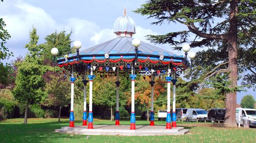 Bandstand Welcomed to Priory Park