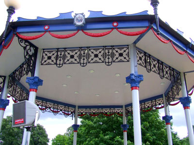 Bandstand Welcomed to Priory Park gallery image