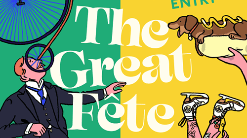 The Great Fête banner